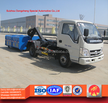Forland hook lift garbage container truck for sale