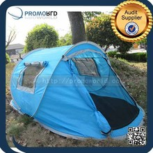 2015 One Second Pop Up Blue Color Ship Shape Outdoor Sleep Camping Tent