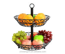 High Quality Metal Fruit Basket Both Functional and Decorative