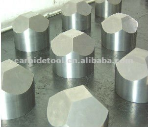Finished Machined 6-facet Tungsten Carbide Anvils As Sintered