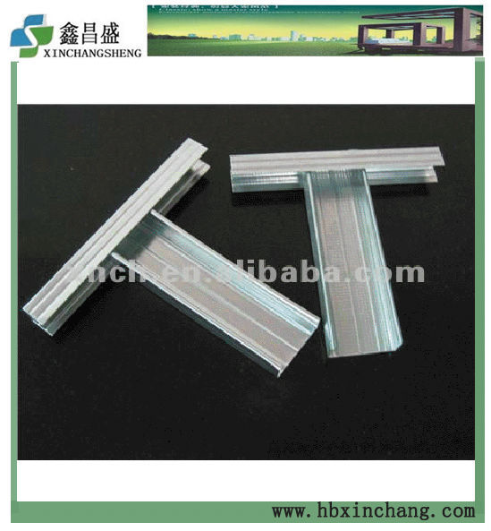 galvanized false ceiling frame sections ud cd profile