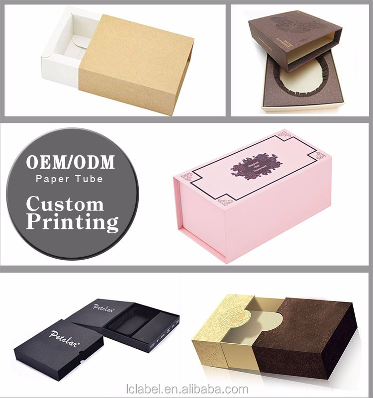 Full color print gift box cardboard folding paper boxes