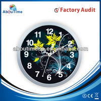 hot sales wall clock/round wall clock/young town quartz clock movements wholesale wall clock