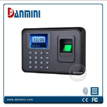 A6 Biometric easy operate time attendance reader