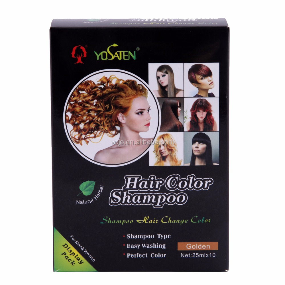 Modcol private label best non allergic halal hair color natural VOJO hair dye
