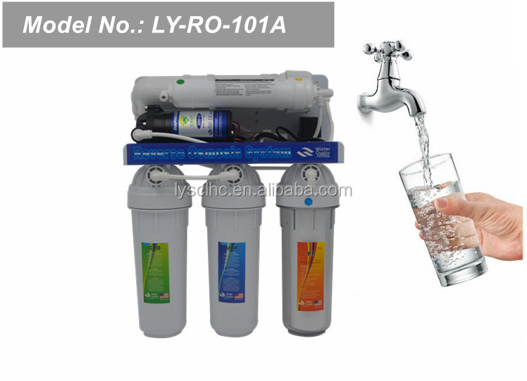 Low maintenance 5 6 7 stage under sink ro system water purifier/domestic ro system price