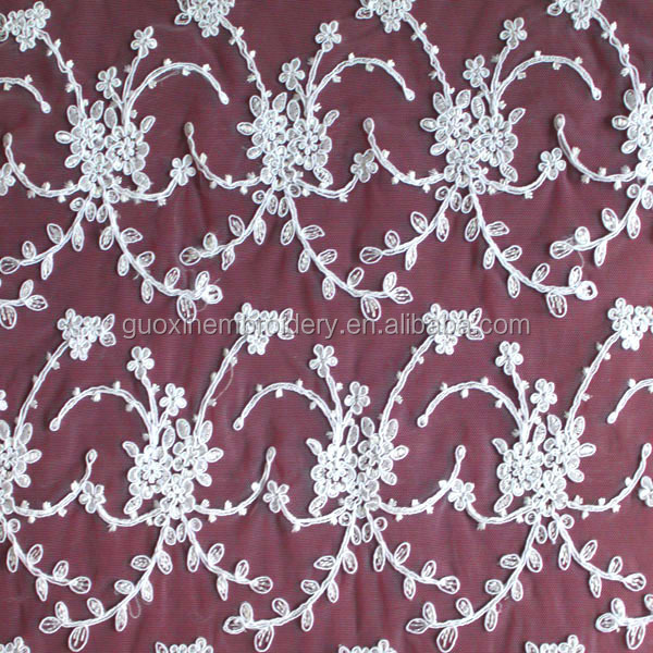 2015 cotton embroidery lace apparel garments accessories