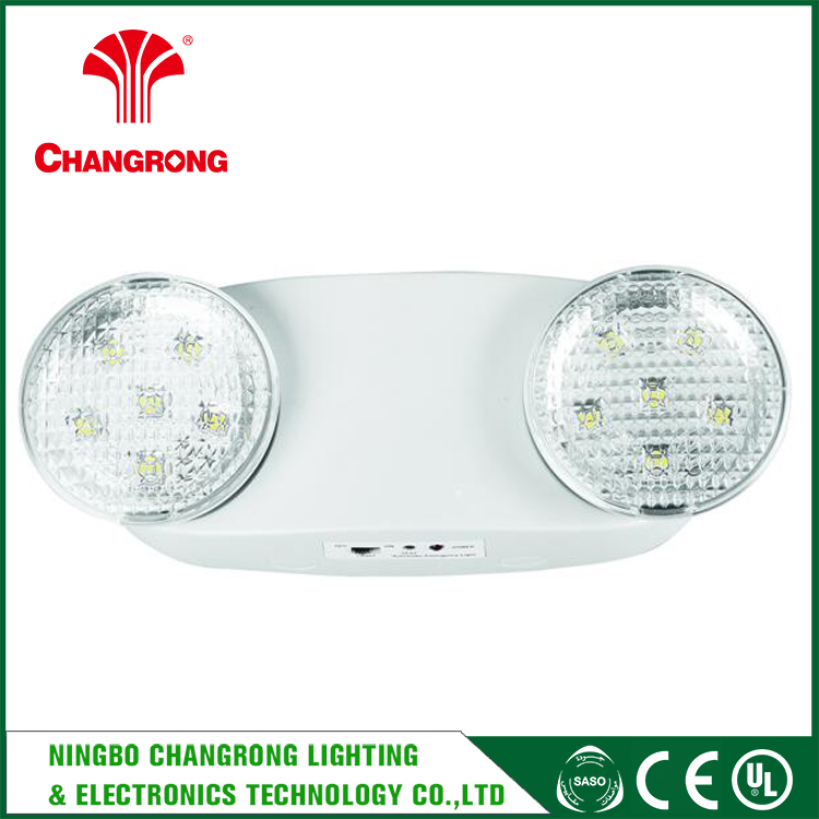 Wall Surface Mouted Emergency Twin Spot Light , Rechargeable Led Emergency Light Circuits