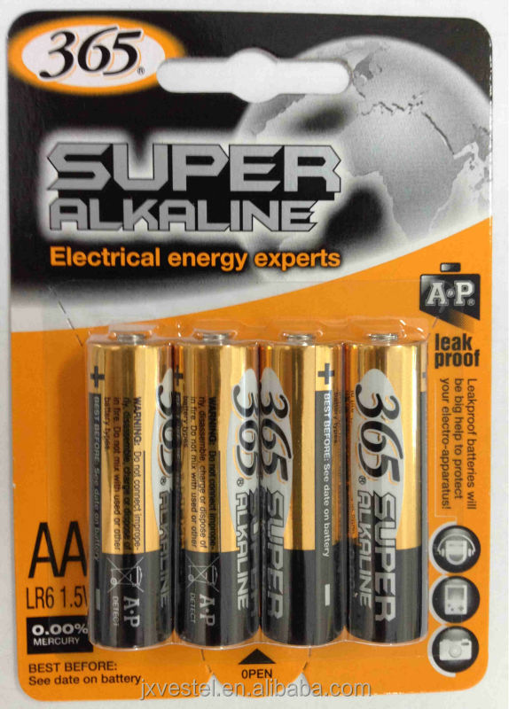 Super Alkaline AA / LR6 / AM3 BATTERY