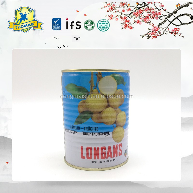 High Quality Factory price China canned longan