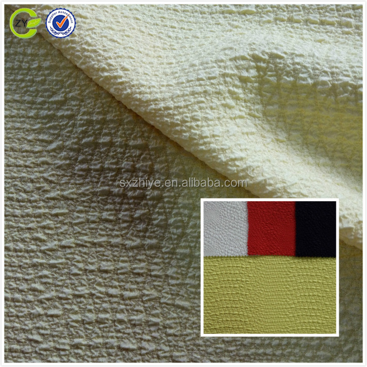 2017 New Fashion Dyed Polyester Stretch Jacquard woven Fabric for Women Clothes
