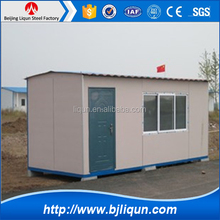 Flat packed modified container house / portable container home for sale
