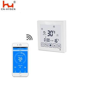 Wifi 7 Days 24 Hours Programming Room Thermostat For Air Conditioning Controller