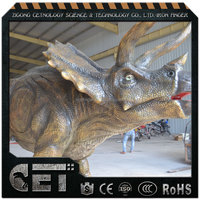 Cet-A-1015 Long Neck animatronic dinosaur Attractive dinosaur toys Simulation brachiosaurus for sale