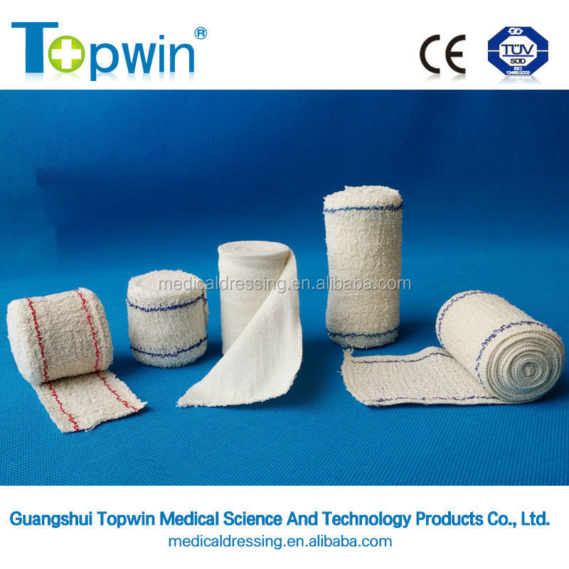 pure cotton crep bandages 100% cotton crep bandages