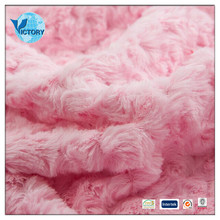 100% Polyester Polished PV Plush Warp Knitted Fabric for Blanket,Bathrobe,Home Textile,Shoes
