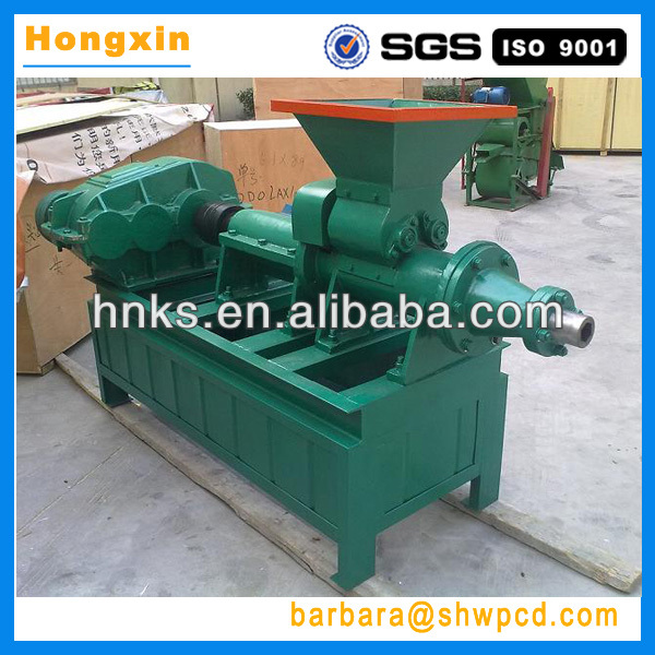 2013 most popular coal and charcoal powder extruder machine