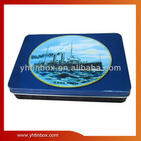 rectangular gift tin can wholesale