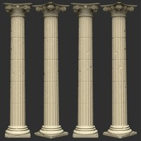 Home Decoration Roman Pillar Natural Marble Column For Sale