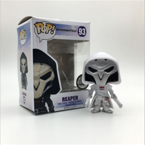 Hot saling Funko Pop! Overwatch Reaper White Exclusive Action Figures