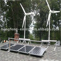 Home use off grid hybrid solar wind power system 3000W