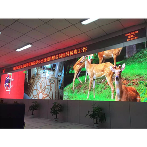 Easy install good price high resolution LED screen P4 indoor led video wall display