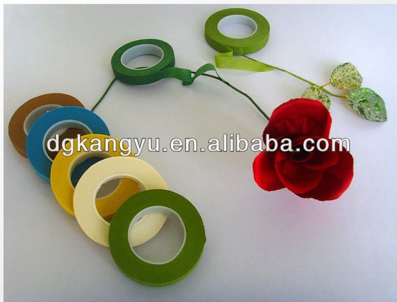 2014 Dongguan water-proof adhesive floral paper tape