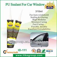 High elasticity windshield polyurethabe sealant