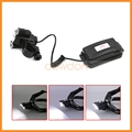 2 in 1 Multifunction Bicycle Front Light 2 R2+T6 3 led Adjustable Headlamp