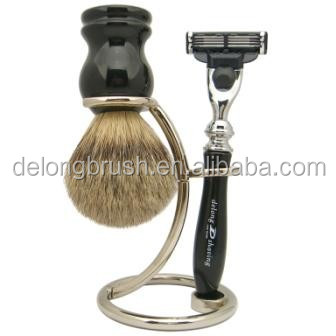 Black Badger Shaving Brush with High Quality Resin Handle