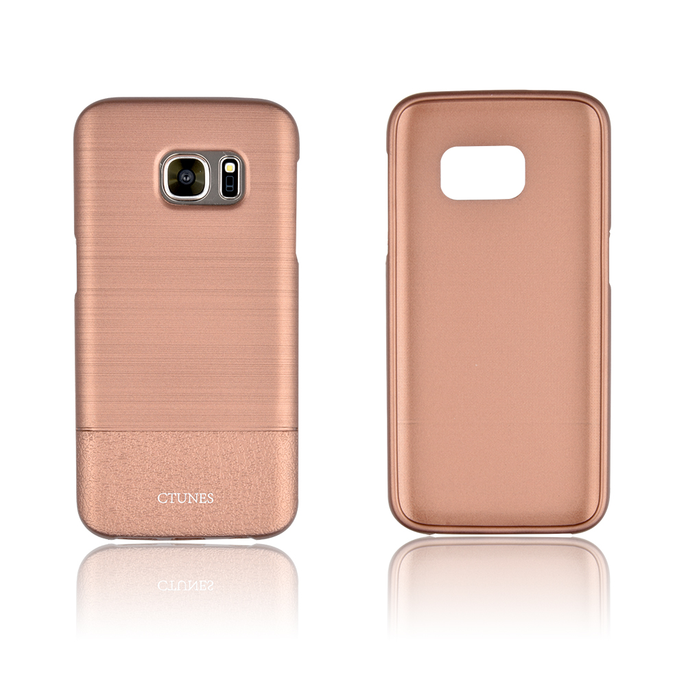 Wire drawing Anti-Scratches TPU Case For Samsung S7,Metallic Brush Soft Rubber Protective for Samsung S7 Case