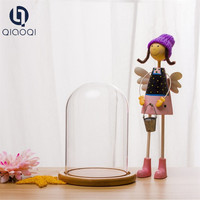 Clear Glass Bell Cover Glass Dome
