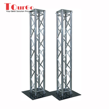 TourGo 2M Aluminum Truss Totem Plinth Stand / Moving Head Podium & Scrim DJ
