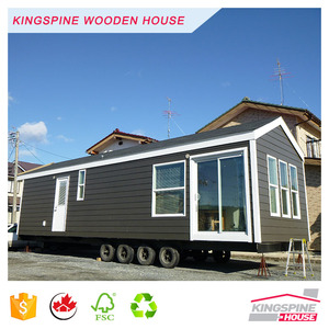 Motor house Prefabricated Movable Wooden House Trailer house