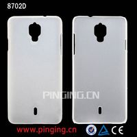 High Quality Dull Polish Plastic PC Back Cover Case for Coolpad 8702D