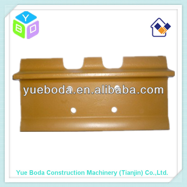bulldozer D40 single grouser track shoe steel track plate pad
