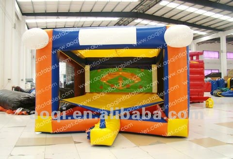 Super quality inflatable baseball games toys set kid indoor playground