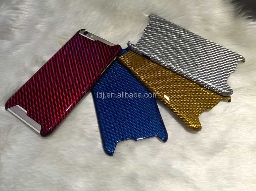 carbon fiber & aramid fiber cell phone case