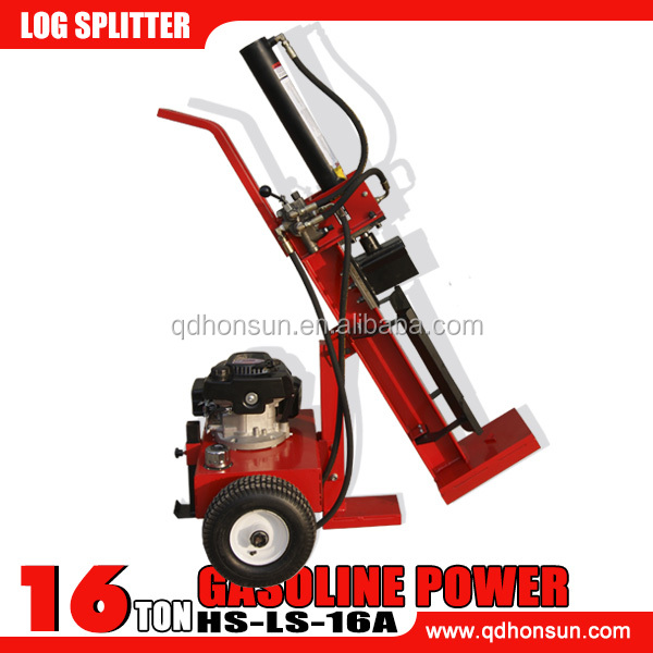 China supplied best seller high efficiency hydraulic B&S VANGUARD engine 16ton log splitter direct