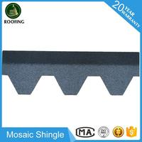 Cheap Mosaic building construction material,cheap fiberglass asphalt roofing shingles with great price