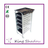 lockable hair salon trolley manicure trolley hair salon trolley cart