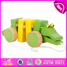 2016 new design wooden jumping animal toy,fashion baby wooden jumping animal toy,cheap wooden jumping animal toy W05B102