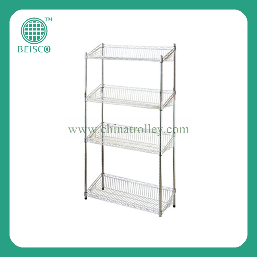 inclined commodity shelf with high quality