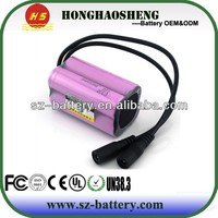Top selling high quality 7.4v 4400mAh li-ion battery pack for asus