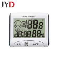 JYD-DHT10 Large And Easy To Read Number Digital Hygro-thermometer With Rear Support Bracket