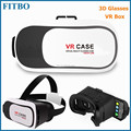 2017 Popular 3D Glasses cardboard vr case vr box 2.0 for Samsung Galaxy S8 S7 Note 5 S6 S6 Edge+