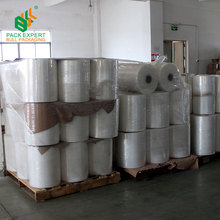 LLDPE Linear low density polyethylene Pallet Shrink Wrap stretch film from china manufacture