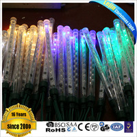 New design yellow 140 meteor rain lights sequential led white With high quality outdoor decoration