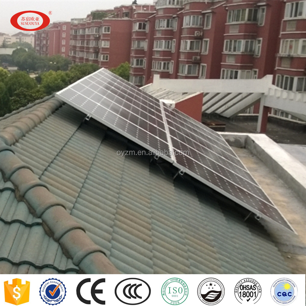 500W~100KW on grid Solar Energy System power generator for Home