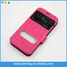 mobile phone accesory leather case for wiko
